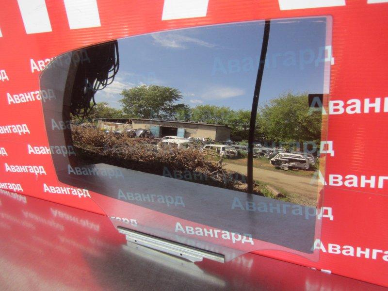 Стекло двери Toyota Corolla 150 1ZR-FE 2007 заднее правое