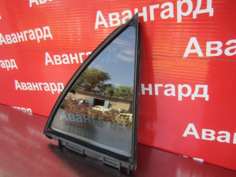 Форточка двери Toyota Corolla 150 1ZR-FE 2007 задняя правая