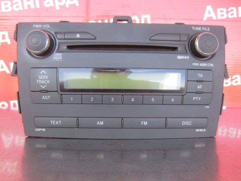 Магнитола Toyota Corolla 150 1ZR-FE 2007
