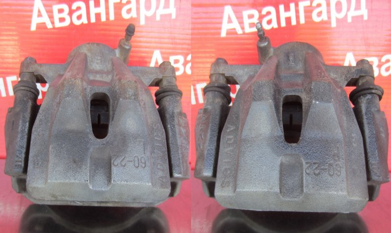 Суппорт тормозной Toyota Corolla 150 1ZR-FE 2007 передний