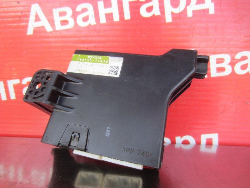 Электронный блок отопителя Toyota Corolla 150 1ZR-FE 2007