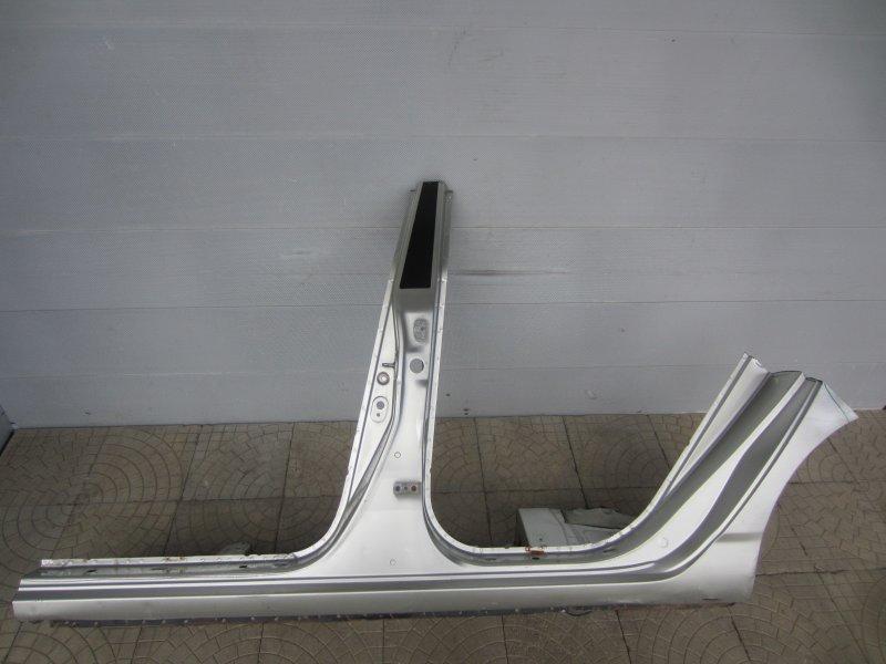 Порог Toyota Corolla 120 ZZE121 3ZZ-FE 2004 левый