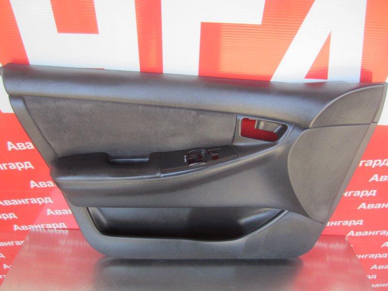 Обшивка двери Toyota Corolla 120 ZZE121 3ZZ-FE 2004 передняя левая