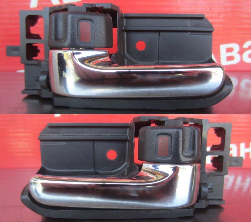 Ручка двери внутренняя Toyota Corolla 120 ZZE121 3ZZ-FE 2004 задняя