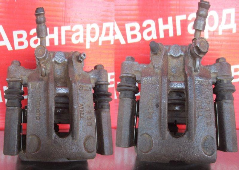 Суппорт тормозной Toyota Corolla 120 ZZE121 3ZZ-FE 2004 задний