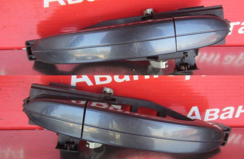 Ручка двери наружная Ford Mondeo 4 QYBA 2008 задняя