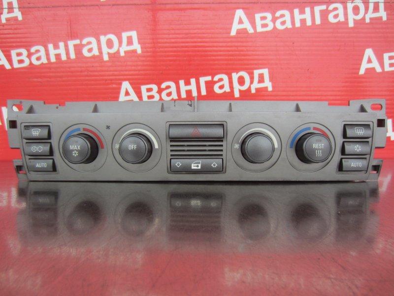 Блок управления печкой Bmw E65 N62B44 2004