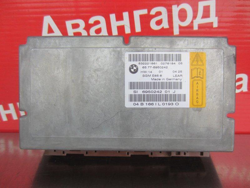 Электронный блок airbag Bmw E65 N62B44 2004