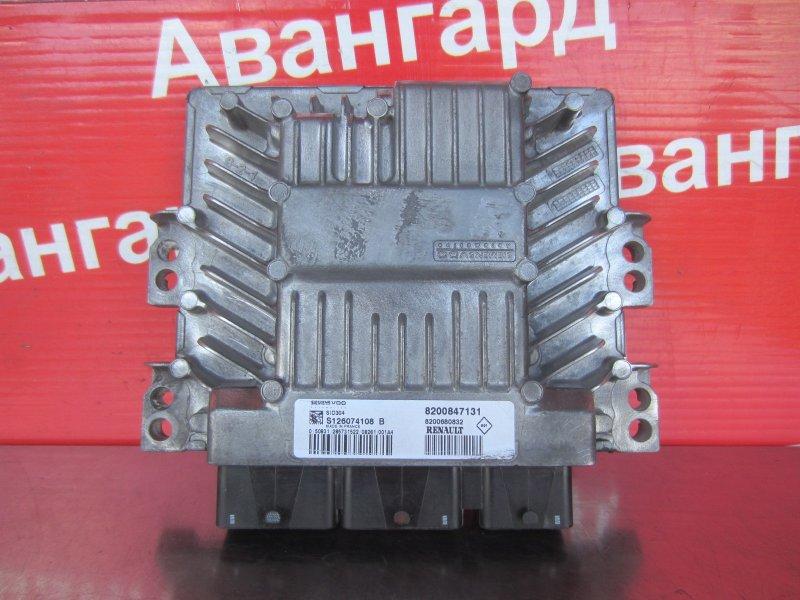 Эбу двс Renault Scenic 2 K9K 734 2008