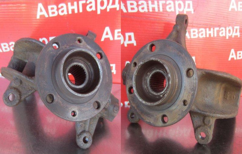 Кулак в сборе со ступицей Renault Scenic 2 K9K 734 2008 передний