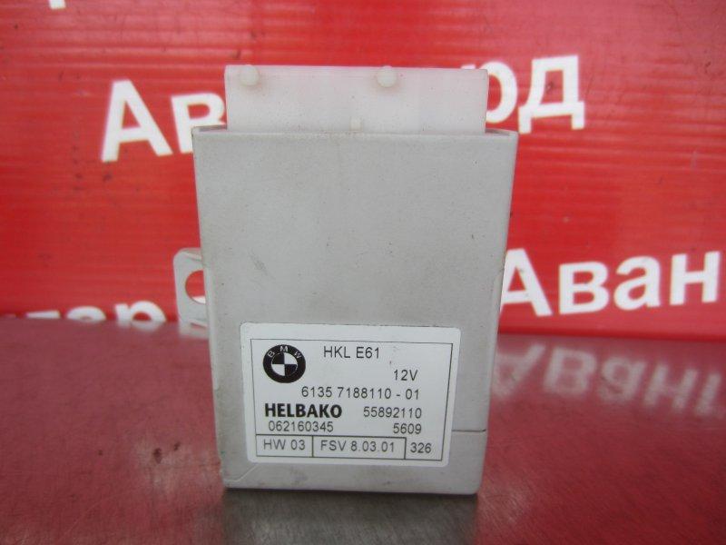 Электронный блок доводчика багажника Bmw E65 N62B44 2004