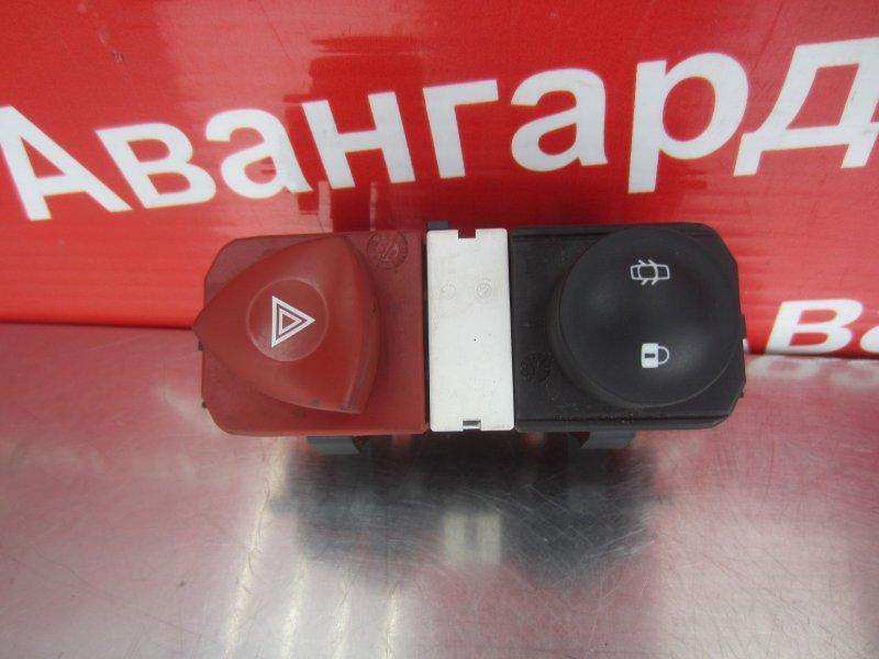 Кнопка аварийная Renault Scenic 2 K9K 734 2008