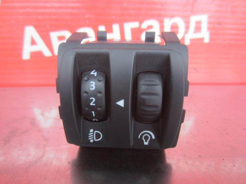 Кнопка регулировки фар Renault Scenic 2 K9K 734 2008