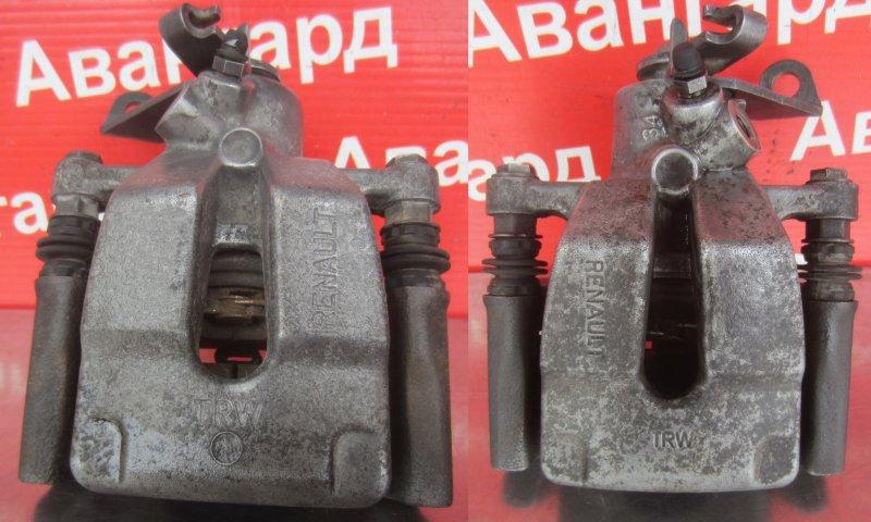 Суппорт тормозной Renault Scenic 2 K9K 734 2008 задний