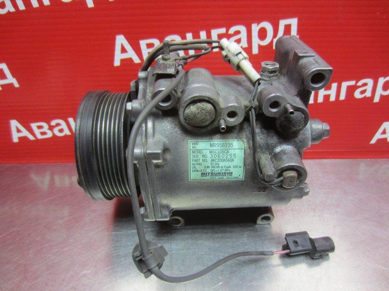 Компрессор кондиционера Mitsubishi Grandis DBA-NA4W 4G69 2006