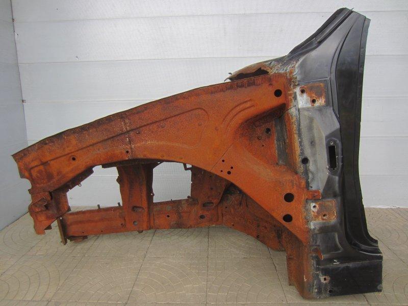 Лонжерон Bmw E53 2001 передний левый
