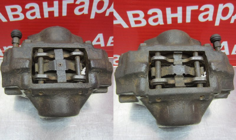 Суппорт тормозной Opel Omega A 1989 задний