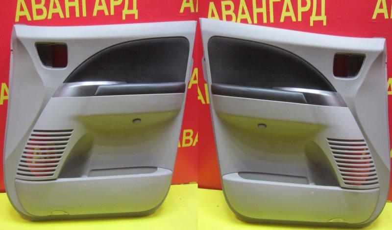 Обшивка двери Mitsubishi Grandis DBA-NA4W 4G69 2006 передняя