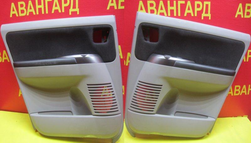 Обшивка двери Mitsubishi Grandis DBA-NA4W 4G69 2006 задняя