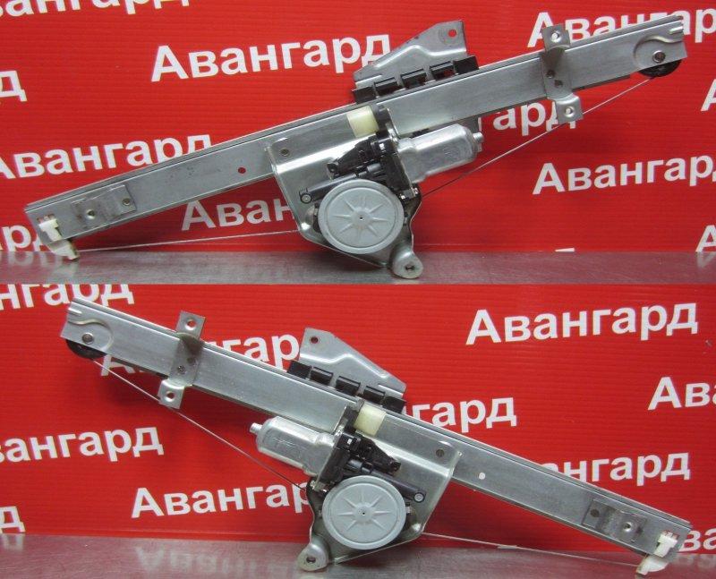 Стеклоподъёмник Mitsubishi Grandis DBA-NA4W 4G69 2006 задний