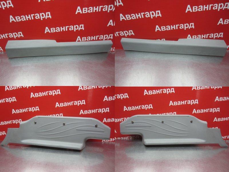 Накладка порога внутренняя Mitsubishi Grandis DBA-NA4W 4G69 2006