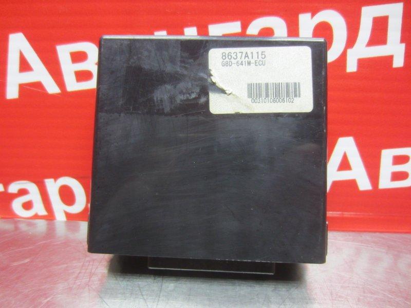 Электронный блок безключевого доступа Mitsubishi Grandis 4G69 2006