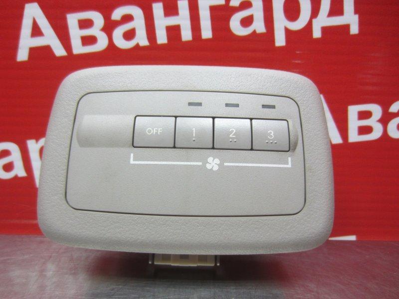 Блок управления печкой Mitsubishi Grandis 4G69 2006 задний