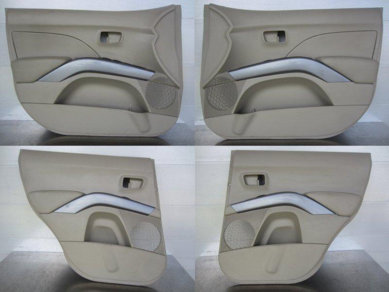 Обшивки дверей комплект Mitsubishi Outlander Xl 2008