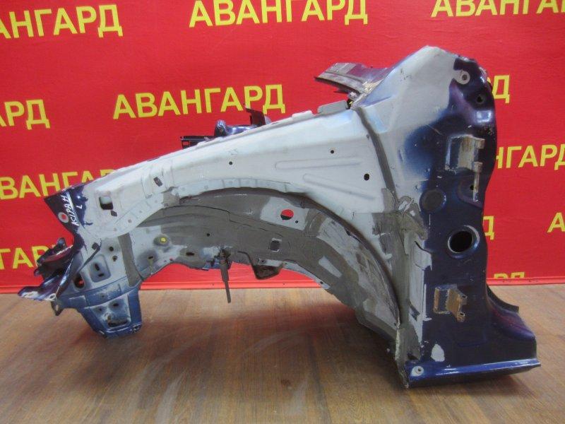 Лонжерон Opel Astra H 2007 передний левый