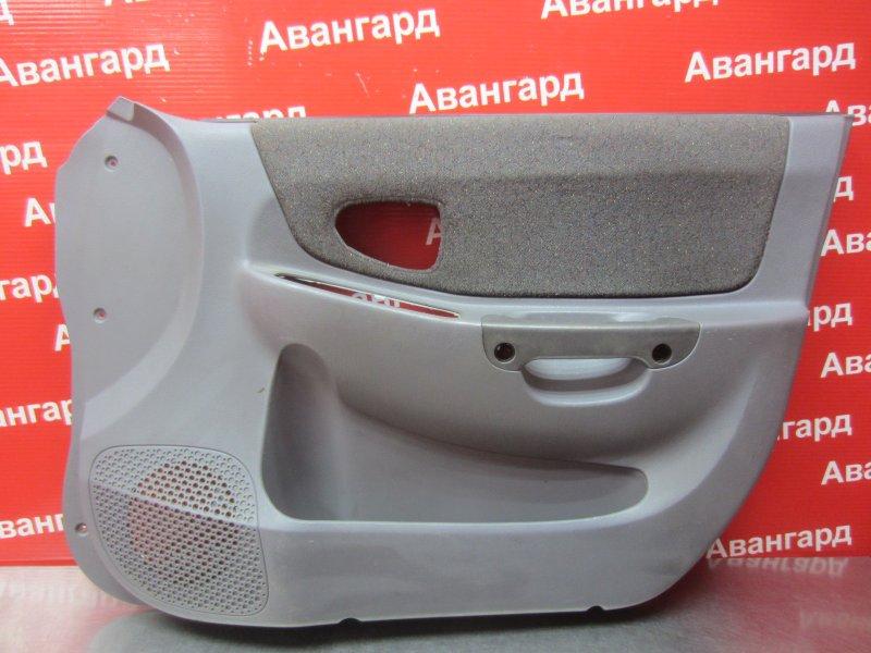 Обшивка двери Hyundai Accent G4EC 2007 передняя правая