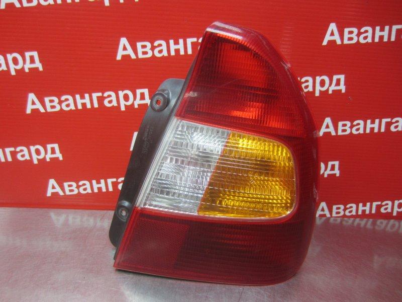 Фонарь Hyundai Accent G4EC 2007 задний правый
