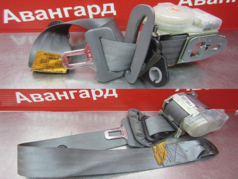 Ремень безопасности Hyundai Accent G4EC 2007 задний