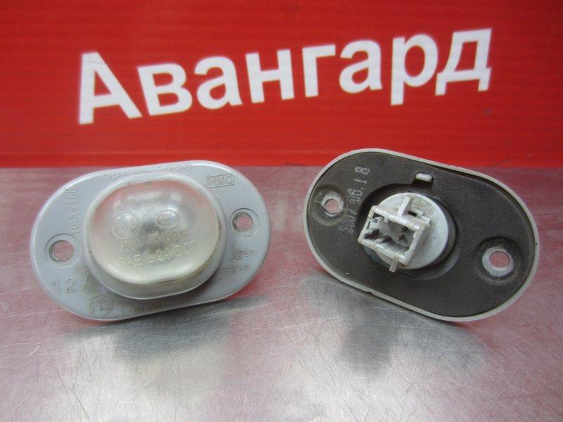 Фонарь подсветки номера Hyundai Accent G4EC 2007 задний