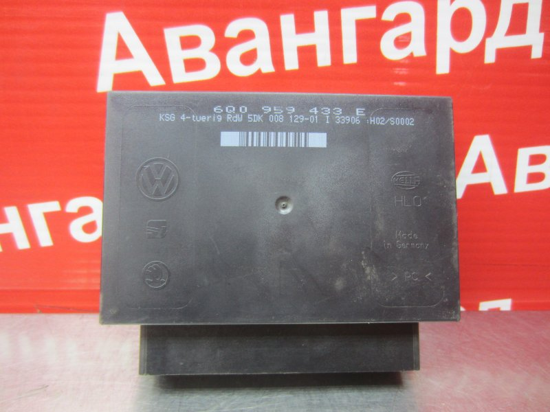 Блок комфорта Volkswagen Polo Mk4 9N3 BUD 2006
