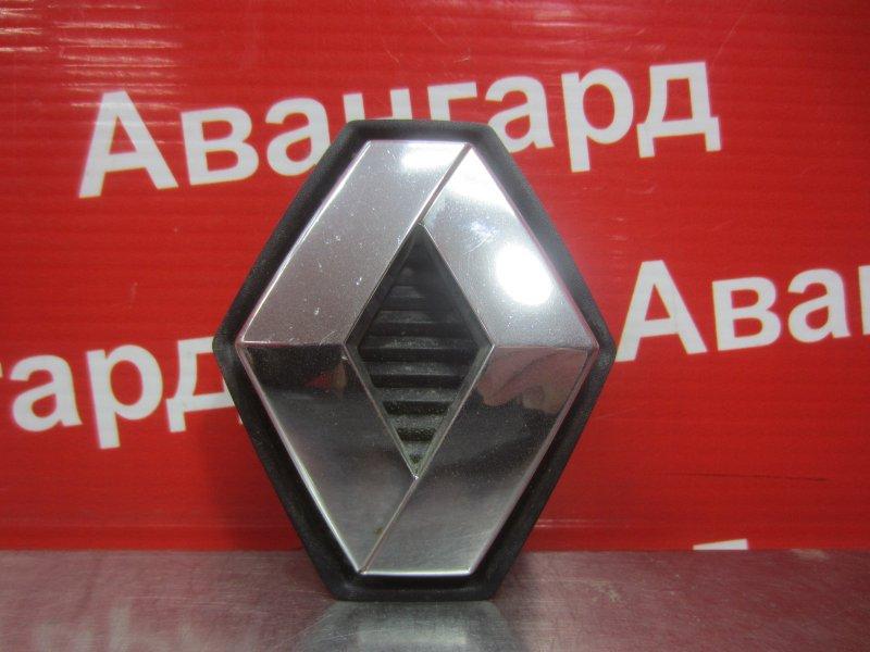 Эмблема Renault Megane 2 K4J 2004