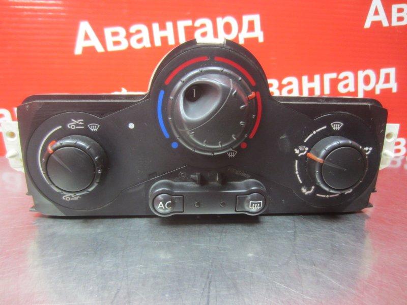 Блок управления печкой Renault Megane 2 K4J 2004