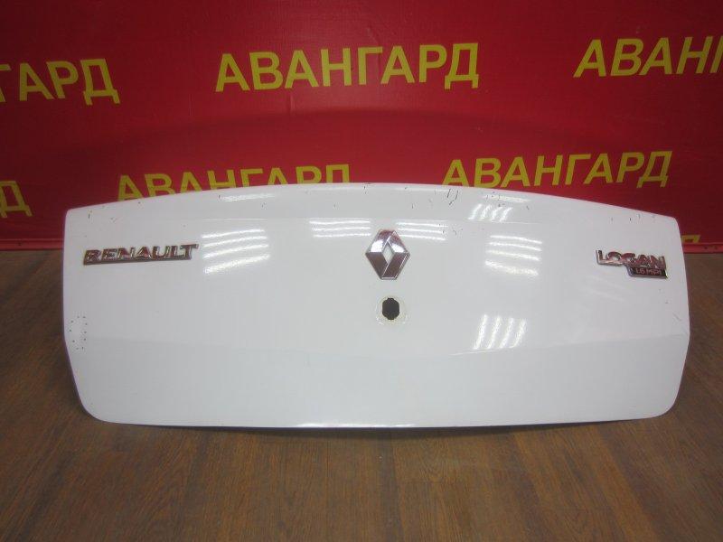Крышка багажника Renault Logan 2008