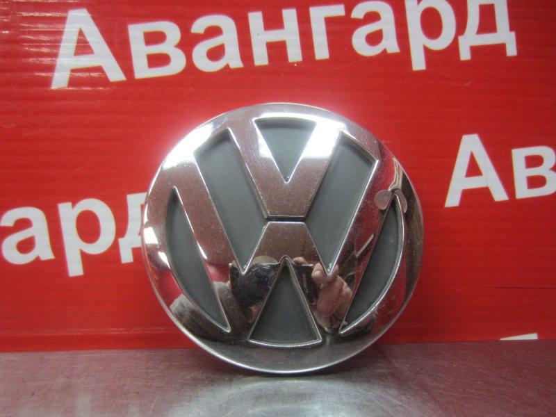 Эмблема Volkswagen Polo Mk4 9N3 2006