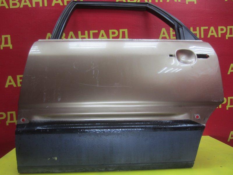 Дверь Audi 100 445 1987 задняя левая