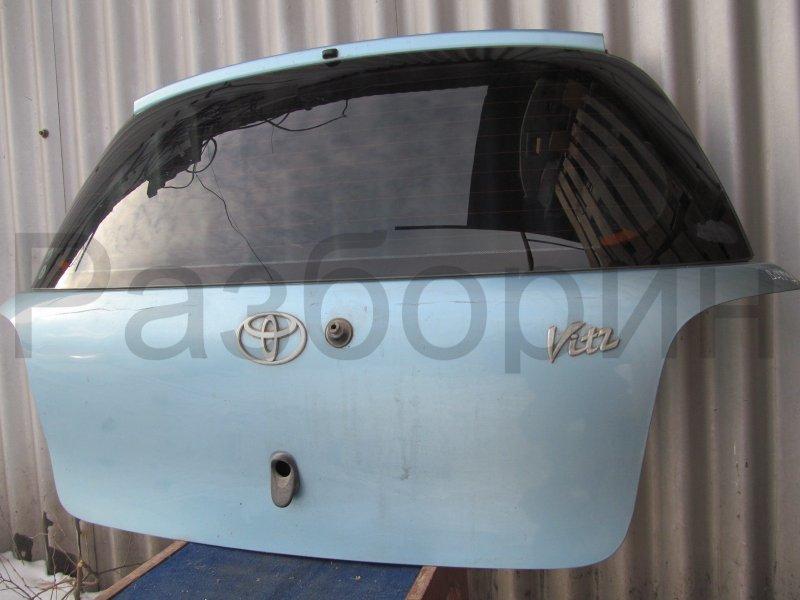 Крышка багажника Toyota Vitz Scp10 2001