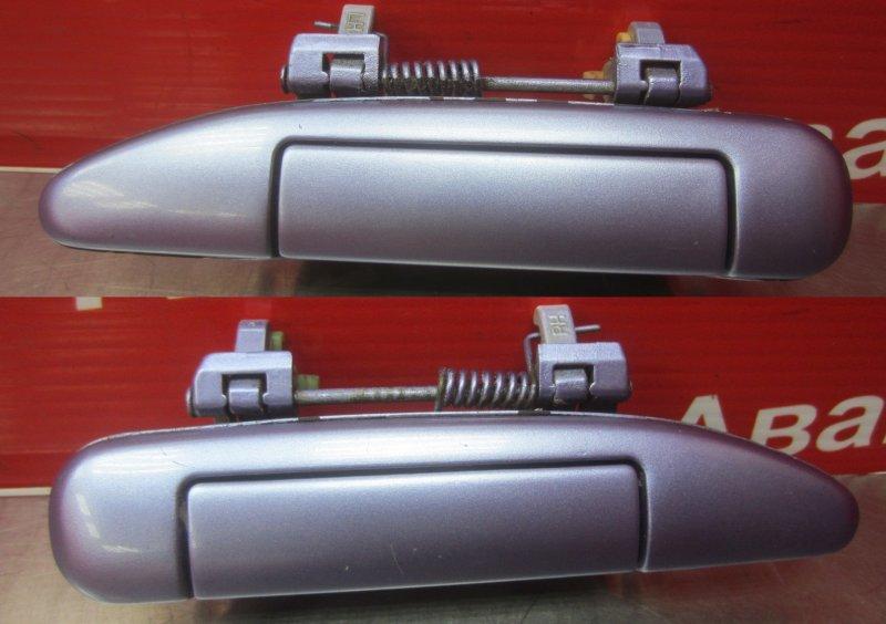 Ручка двери наружная Nissan Primera P11 1998 передняя