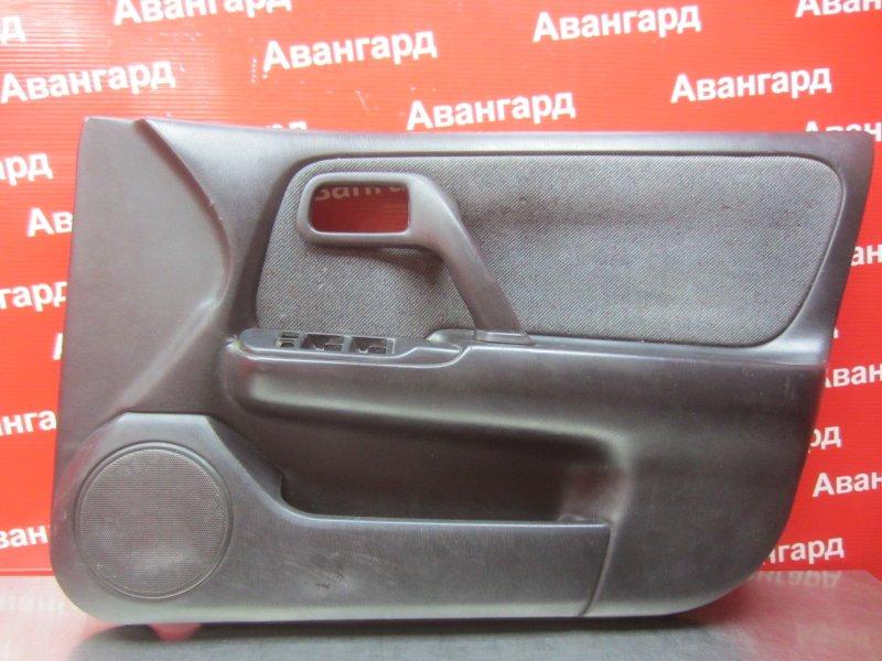 Обшивка двери Nissan Primera P11 1998 передняя правая