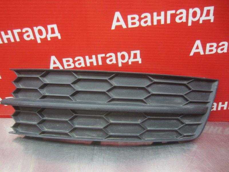 Накладка бампера Skoda Rapid 2014