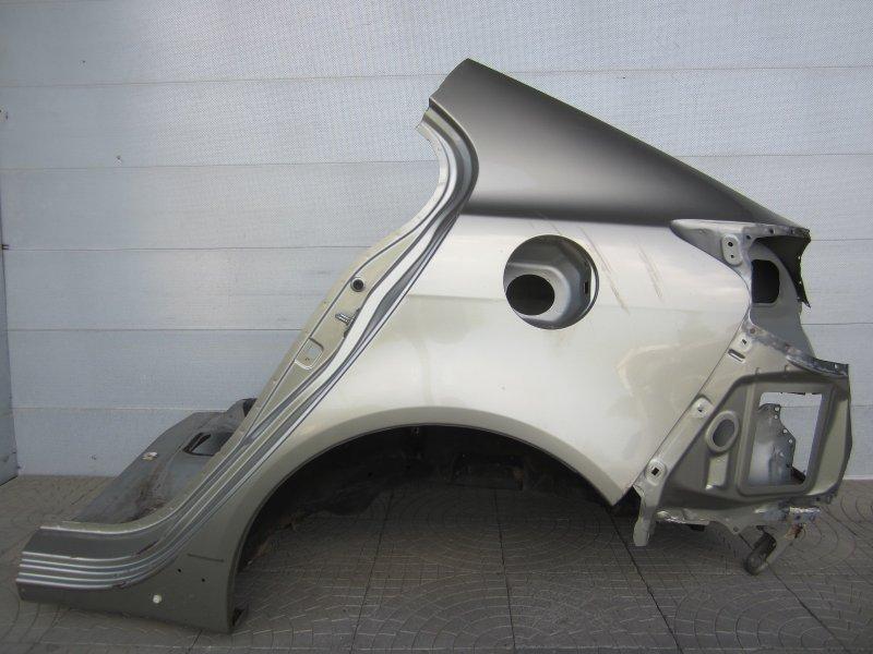 Крыло Mitsubishi Lancer X 2009 заднее левое