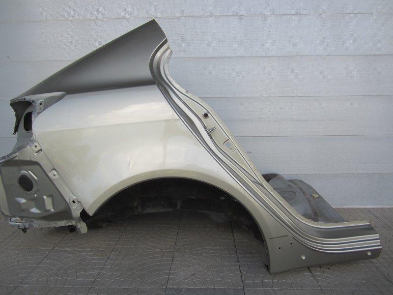 Крыло Mitsubishi Lancer X 2009 заднее правое