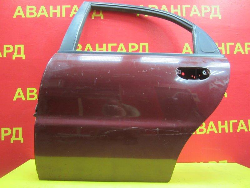 Дверь Chevrolet Lanos 2011 задняя левая