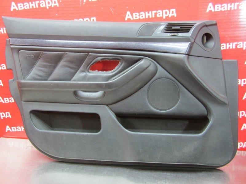 Обшивка двери Bmw E39 1998 передняя левая