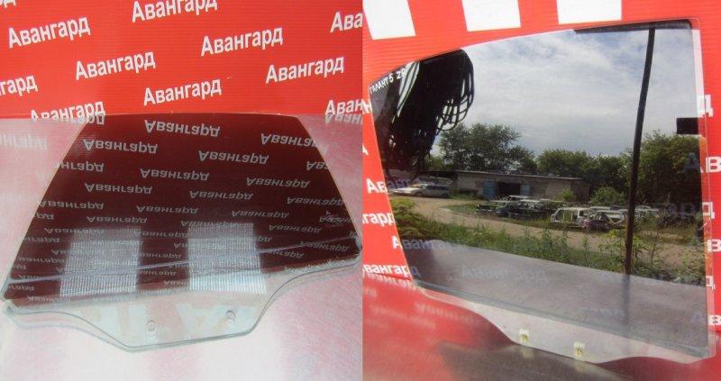 Стекло двери Mitsubishi Galant 8 2000 заднее