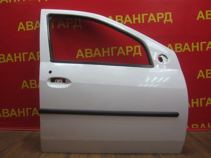 Дверь Renault Logan 2009 передняя правая