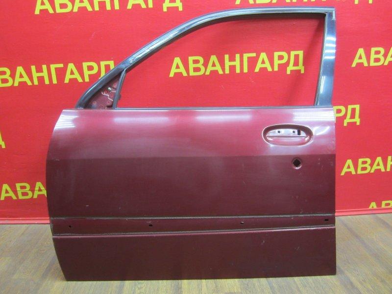 Дверь Toyota Duet 1998 передняя левая